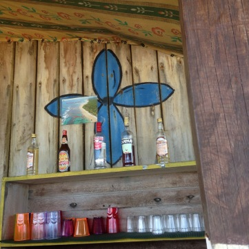 Bahian beach bar